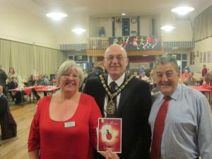 Jackie , the Mayor John Lloyd and Chris ...let the Auction begin :)