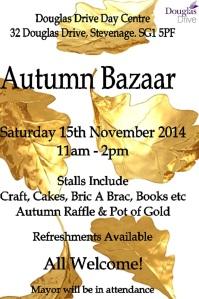 Autumn Bazaar Poster 2014