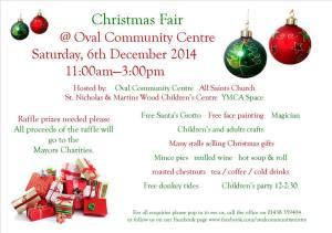 Oval Christmas Fair