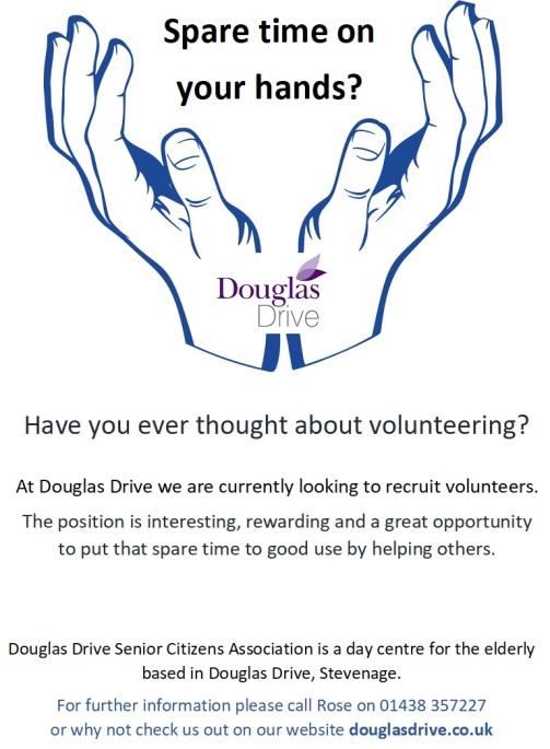 Volunteering poster 2018